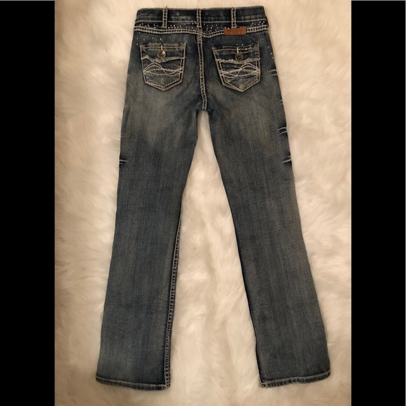6248cd956 Cowgirl Tuff Other - Girls cowgirl Tuff Jeans Saddle Ready size 11